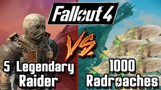 getlinkyoutube.com-Legendary Raider vs 1000 Radroach | Fallout 4 Battle Arena | Battle Request
