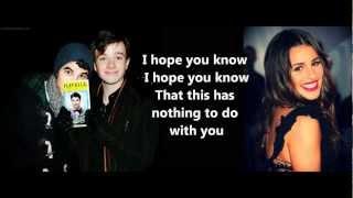 Glee- Big girls don't cry Lyrics