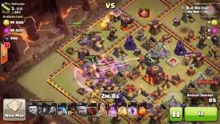 getlinkyoutube.com-Clan war 3 stars max TH 10 with 28 GIANT