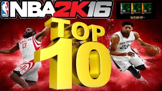 getlinkyoutube.com-NBA 2K16 TOP 10 BEST DYNAMIC RATING MYTEAM CARDS