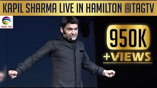 getlinkyoutube.com-Kapil Sharma Live in Hamilton @ TAG TV Toronto Clips