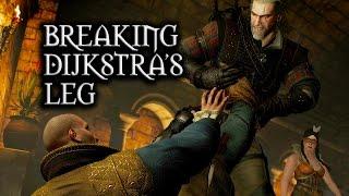 getlinkyoutube.com-The Witcher 3: Wild Hunt - Breaking Dijkstra's leg