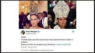 Piers Morgan calls out Met Gala