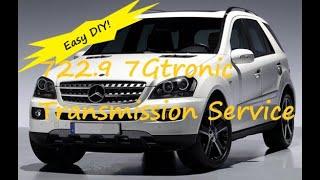 getlinkyoutube.com-Mercedes 722.9 ML320 ML350, C, E, S, GL Transmission Service