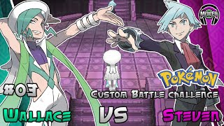 getlinkyoutube.com-Pokemon Battle Challenge 4: Champion Steven VS Champion Wallace
