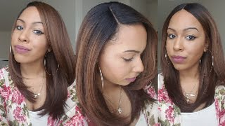 getlinkyoutube.com-Freetress Jannie | OP27 | Very Natural Everyday Wig for $20! | Collab w/ MoHair Fly