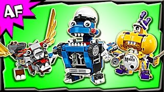 getlinkyoutube.com-Lego Mixels MAX Series 7: MCPD, Medivals, Mixies Stop Motion Build Review