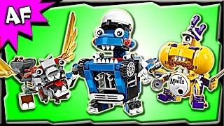 Lego Mixels MAX Series 7: MCPD, Medivals, Mixies Stop Motion Build Review
