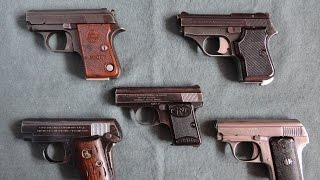 getlinkyoutube.com-PISTOLAS DE BOLSILLO CALIBRE .25 ACP- Pocket Pistol Collection