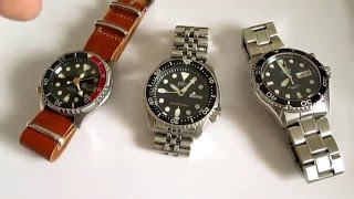 getlinkyoutube.com-Seiko SKX vs Citizen Promaster vs Orient Ray - 3 Best Dive Watches Under 200 $