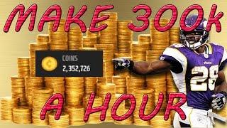 getlinkyoutube.com-HOW TO MAKE 300K A HOUR IN MADDEN MOBILE 17/MAKE MILLIONS FAST