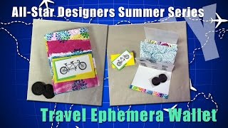 Travel Ephemera Wallet