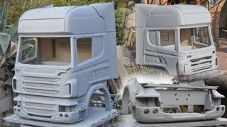 Scania R730 - budowanie kabiny