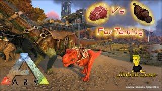 getlinkyoutube.com-ARK Survival Evolved Cooked Prime vs Raw Meat
