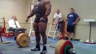 getlinkyoutube.com-Johnnie Jackson pulls hamstring on 3rd deadlift attempt