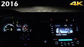 getlinkyoutube.com-AT NIGHT: 2016 Toyota RAV4 Interior and Exterior in 4K