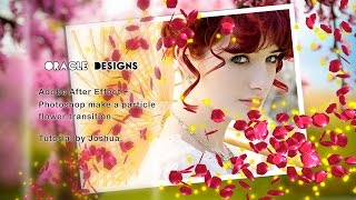 getlinkyoutube.com-Adobe After Effect + photoshop make a particle flower transition