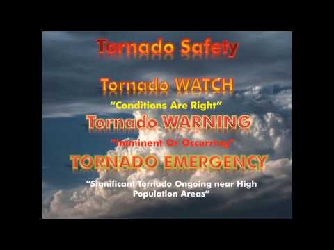 Tornado Safety Video 2012 from Neoweather.com