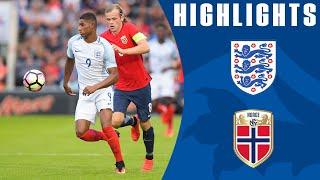 England U21 6-1 Norway U21 (Euro 2017 U21 Championship Qualifier) | Goals & Highlights