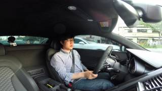"getlinkyoutube.com-아우디 R8 V10 플러스 시승기, ""구글 글래스를 쓰고 잠시"" - 미공개영상"