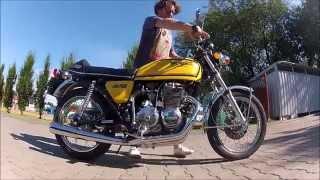 getlinkyoutube.com-Honda CB 400 Four kickstart