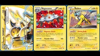 getlinkyoutube.com-Heavy Damage Raichu Break Deck Continuously Spamming Expensive Grand Bolt