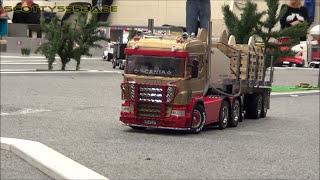 getlinkyoutube.com-RC TRUCKS @ LEYLAND (OCTOBER 2016) Tamiya scaleART Wedico Carson Verkerk truescale trucks