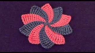 getlinkyoutube.com-Цветок с разноцветными лепестками - Flower with multicolored petals