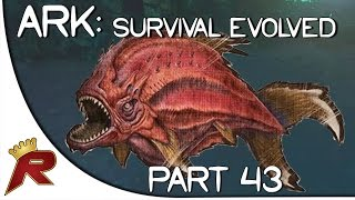 "getlinkyoutube.com-Ark: Survival Evolved Gameplay - Part 43: ""HUGE Piranha Attack!"" (Early Access)"