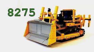 getlinkyoutube.com-Lego Technic Bulldozer 8275 Review – Моторизованный Бульдозер – Легенды Лего Техник – Обзор №8