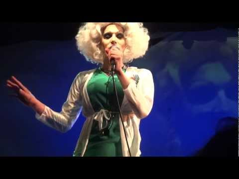 "Sharon Needles ""Human Centipede/Three"" and thank you speech, Trannyshack LA Aug 41, 2012"