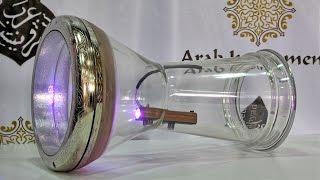 getlinkyoutube.com-The Glass Darbuka & Darbuka Dance Light Device (Wait for the end..)
