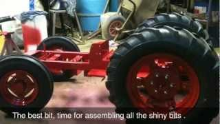 getlinkyoutube.com-half size model tractor hand made by steffan fell