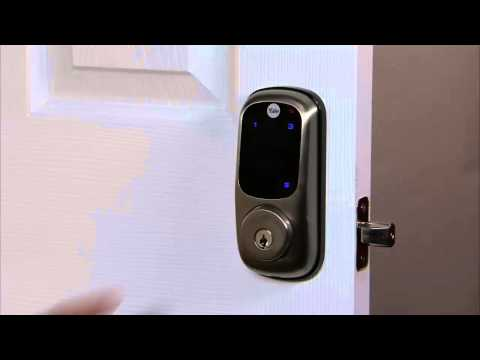 Yale Real Living Touchscreen Deadbolt Programming - User PIN Code Registration 02