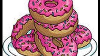 getlinkyoutube.com-Los simpson springfield truco para conseguir rosquillas