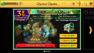getlinkyoutube.com-Knights and Dragons- Opening 40 SHAMROCK CHEST!