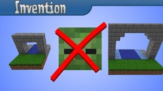 getlinkyoutube.com-[Invention] The BEST Mob Proof Door (Always Open for You!)
