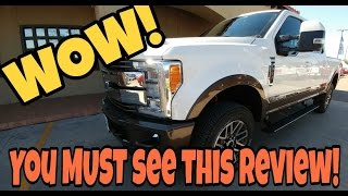 getlinkyoutube.com-2017 F250 King Ranch!  Hard not to be biased! Seriously...