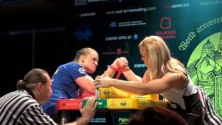 getlinkyoutube.com-WORLD ARMWRESTLING CHAMPIONSHIP 2014 HEIDI ANDERSSON - OLGA SHLIZHEVSKAYA