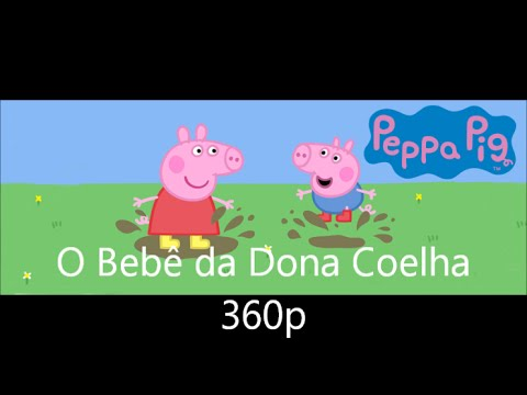 Peppa Pig Temp.04 ep.10 O Bebê da dona coelha