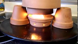 getlinkyoutube.com-TEA LIGHT CANDLE HEATER  FIRE!