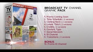 getlinkyoutube.com-Broadcast Graphic Tv Channel Pack