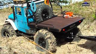 """TOYOTA  Land Cruiser BJ 45 & Off Road Caravan """" HOLIDAY Part 2 """" MATOJE OFF ROAD EXPERIENCE"""
