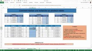 getlinkyoutube.com-Excel - Comment faire des recherches sur plusieurs sources