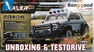 getlinkyoutube.com-Banggood HG P402 Scale Crawler - Unboxing & Testdrive