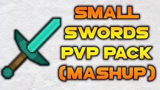 Minecraft PvP Texture Pack - Small Swords Mashup 64x64 Cr1tzPvP Edit | PvP Resource Pack 1.8 1.7