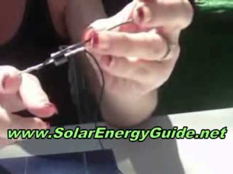 How To Make Small Solar Panels - Learn How To Make Small Solar Panels