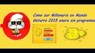 getlinkyoutube.com-Como ser millonario en Mundo Gaturro sin programas 2015