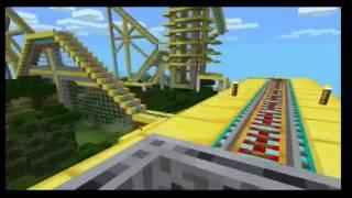 getlinkyoutube.com-ماين كرافت للجوال ماب الماين كارت   minecraft PE map Roller