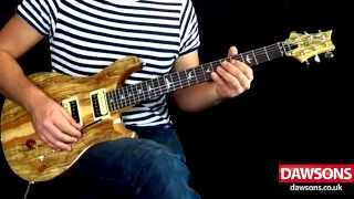 getlinkyoutube.com-PRS SE Custom 24 Floyd Spalted Maple Limited Edition - Demo